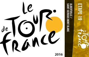 Le Tour de France - Saint Gervais