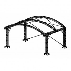 Scène Prolyte Arc Roof 6x4m